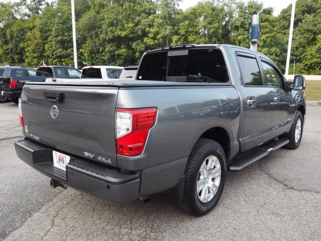 2017 Nissan Titan Crew Cab 4x4, Pickup #62307A - photo 2
