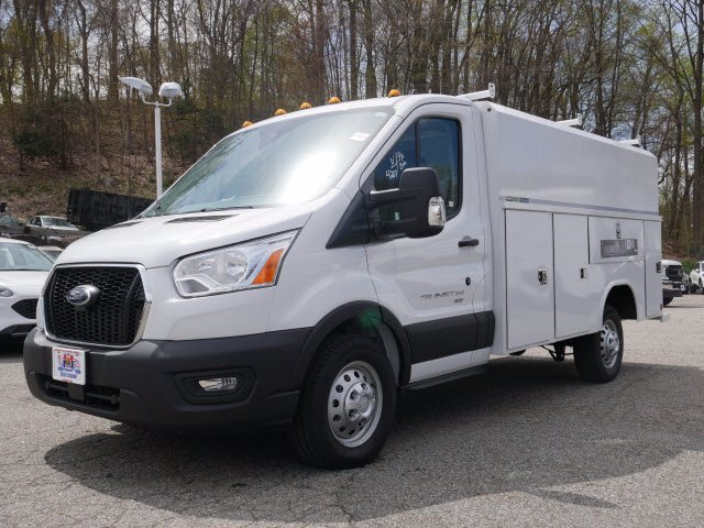 2020 Ford Transit 350 AWD, Reading Aluminum CSV Service Utility Van #62402 - photo 3