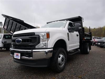 2020 Ford F-350 Regular Cab DRW 4x4, Rugby Eliminator LP Steel Dump Body #62426 - photo 3