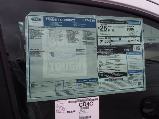2020 Ford Transit Connect FWD, Empty Cargo Van #62503 - photo 12