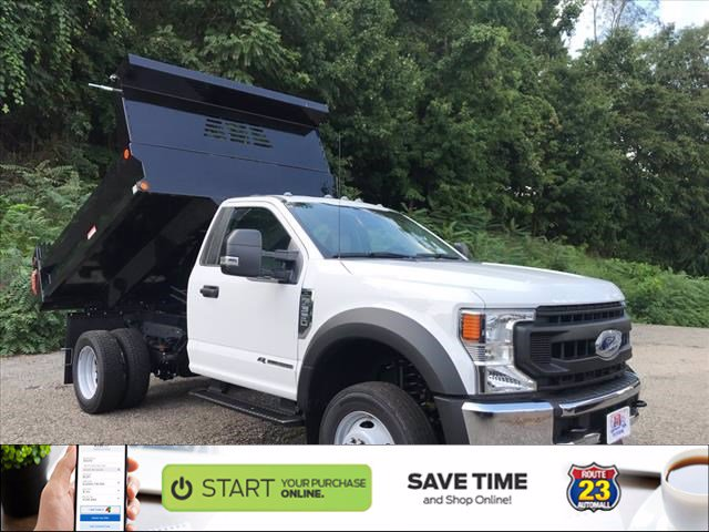 2020 Ford F-550 Regular Cab DRW 4x4, Reading Dump Body #62641 - photo 1