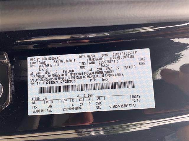 2020 Ford F-150 Super Cab 4x4, Pickup #62863F - photo 14