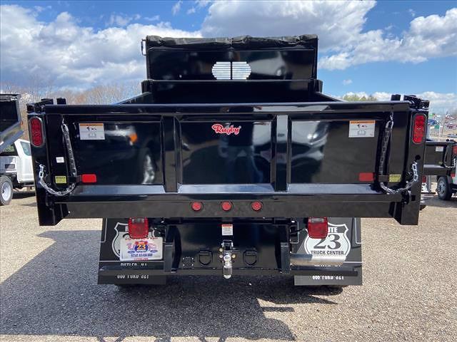 2021 Ford F-550 Regular Cab DRW 4x4, Rugby Eliminator LP Steel Dump Body #63427 - photo 6