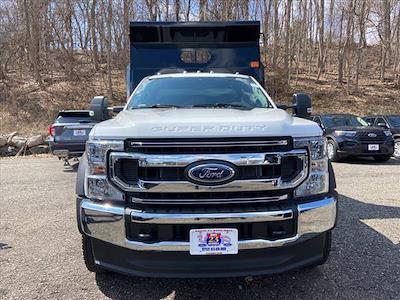 2021 Ford F-550 Regular Cab DRW 4x4, Rugby Eliminator LP Steel Dump Body #63459 - photo 3