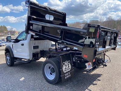 2021 Ford F-550 Regular Cab DRW 4x4, Rugby Eliminator LP Steel Dump Body #63459 - photo 5