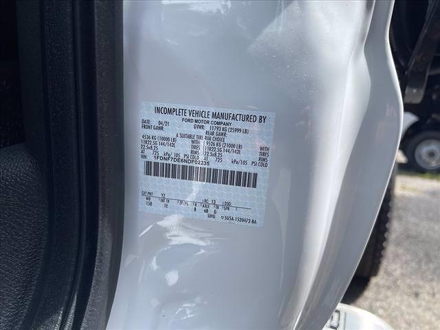 2022 F-750 Regular Cab DRW 4x2,  Cliffside Body Corp Dump Body #63591 - photo 8