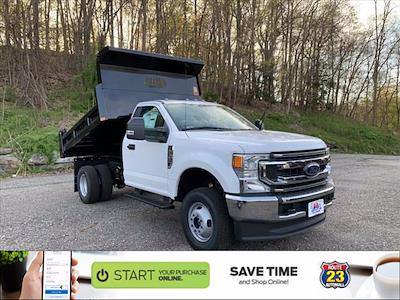 2021 Ford F-350 Regular Cab DRW 4x4, Rugby Eliminator LP Steel Dump Body #63639 - photo 1