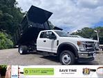 2021 F-550 Super Cab DRW 4x4,  Reading Landscaper SL Landscape Dump #63685 - photo 1