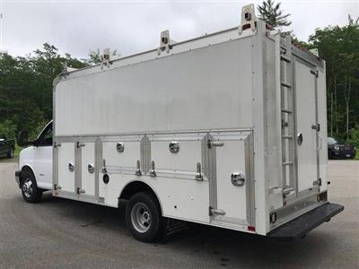 2017 Savana 4500 4x2,  Dejana DuraCube Max Service Utility Van #N17473 - photo 4