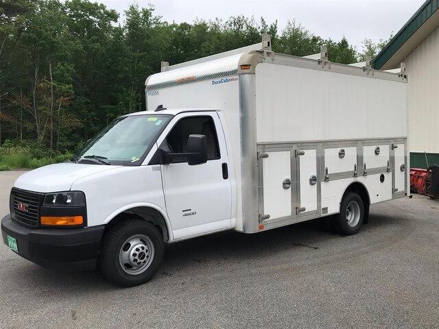 2018 Savana 4500 4x2,  Dejana Truck & Utility Equipment DuraCube Max Service Utility Van #N18216 - photo 5