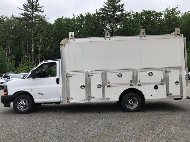 2018 Savana 4500 4x2,  Dejana Truck & Utility Equipment DuraCube Max Service Utility Van #N18216 - photo 3