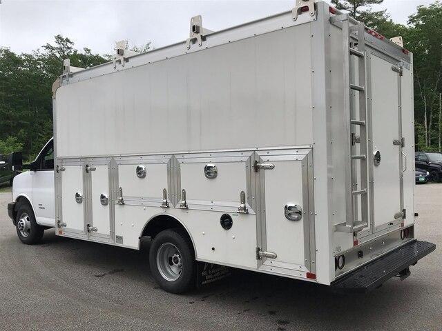 2018 Savana 4500 4x2,  Dejana Truck & Utility Equipment Service Utility Van #N18216 - photo 1