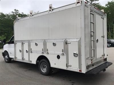 2018 Savana 4500 4x2,  Dejana Truck & Utility Equipment DuraCube Max Service Utility Van #N18216 - photo 2