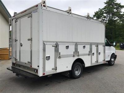 2018 Savana 4500 4x2,  Dejana Truck & Utility Equipment DuraCube Max Service Utility Van #N18216 - photo 7