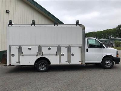 2018 Savana 4500 4x2,  Dejana Truck & Utility Equipment DuraCube Max Service Utility Van #N18216 - photo 8