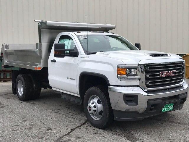 2019 Sierra 3500 Regular Cab DRW 4x4,  Air-Flo Dump Body #N18633 - photo 1