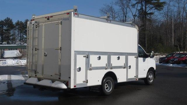 2018 Savana 3500 4x2,  Dejana Truck & Utility Equipment Service Utility Van #N18672 - photo 1