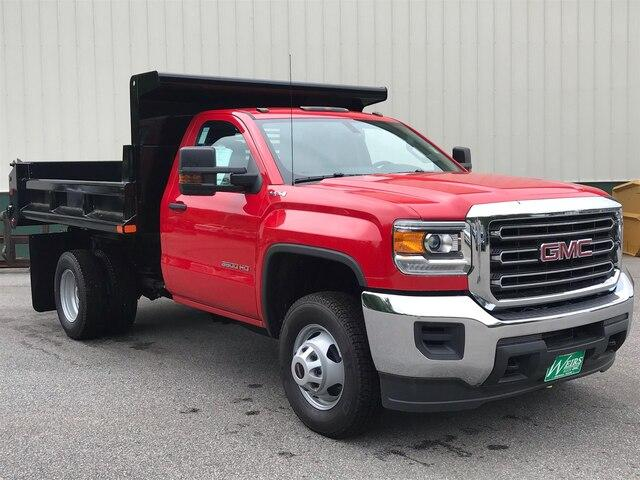 2019 Sierra 3500 Regular Cab DRW 4x4,  Air-Flo Dump Body #N18806 - photo 1