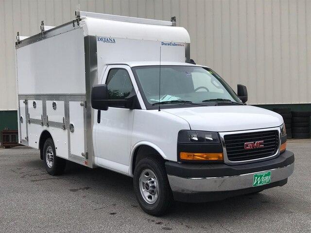 2019 Savana 3500 4x2,  Dejana Truck & Utility Equipment DuraCube Max Service Utility Van #N19075 - photo 3