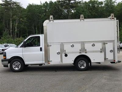 2019 Savana 3500 4x2,  Dejana Truck & Utility Equipment DuraCube Max Service Utility Van #N19075 - photo 6