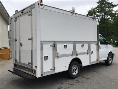 2019 Savana 3500 4x2,  Dejana Truck & Utility Equipment DuraCube Max Service Utility Van #N19075 - photo 8