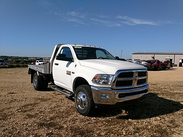 2017 Ram 3500 Regular Cab DRW 4x4,  Platform Body #HG667063 - photo 3