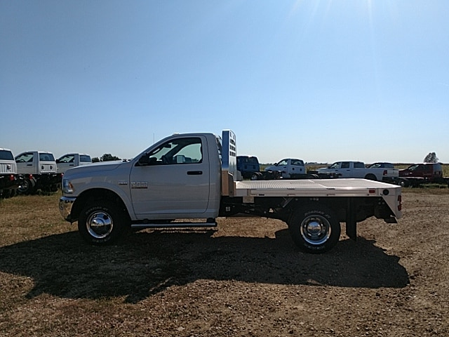 2017 Ram 3500 Regular Cab DRW 4x4,  Platform Body #HG667063 - photo 8