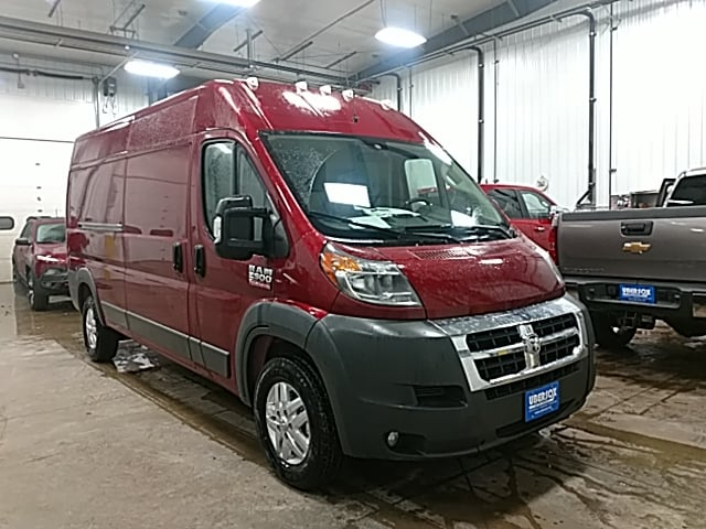 2018 ProMaster 2500 High Roof 4x2,  Empty Cargo Van #JE116215 - photo 4