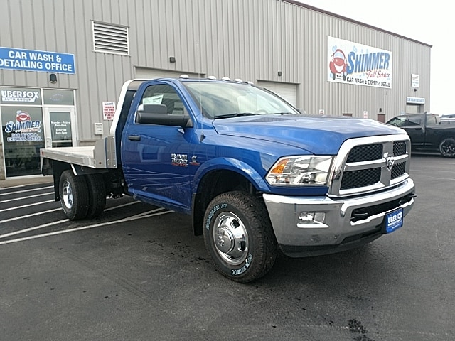 2018 Ram 3500 Regular Cab DRW 4x4,  M H EBY Platform Body #JG312489 - photo 13