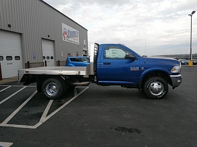 2018 Ram 3500 Regular Cab DRW 4x4,  M H EBY Platform Body #JG312489 - photo 15