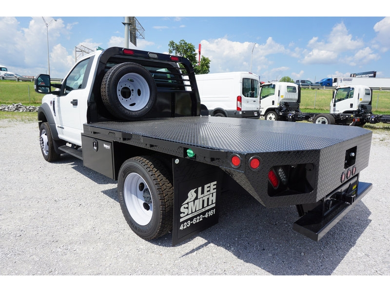 2017 F-550 Regular Cab DRW 4x4,  Freedom Rodeo Platform Body #HEF30320 - photo 2