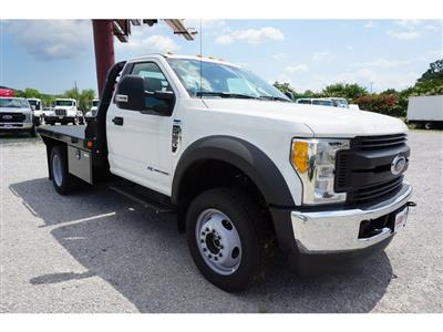 2017 F-550 Regular Cab DRW 4x4,  Freedom Rodeo Platform Body #HEF30320 - photo 3