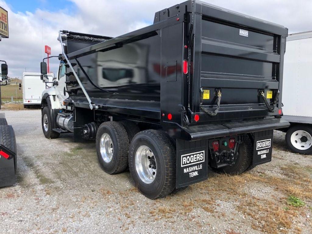 2020 International HV 6x4, Rogers Manufacturing Dump Body #LH254125 - photo 1