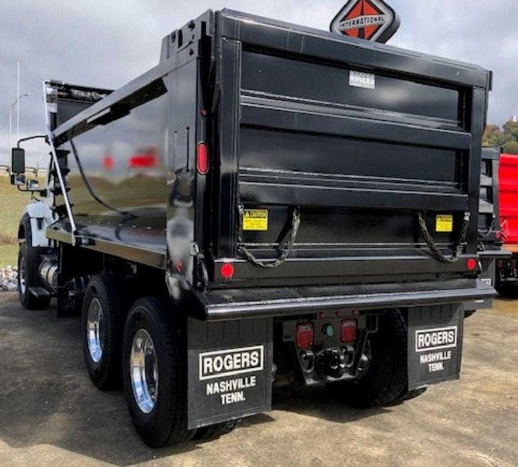 2020 International HV 6x4, Rogers Manufacturing Dump Body #LH254136 - photo 1