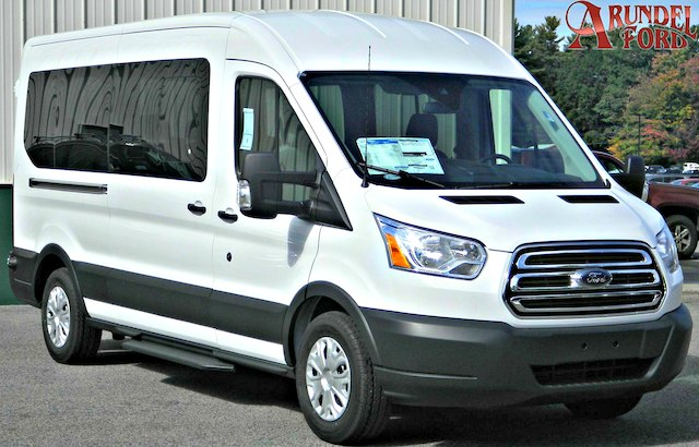 2016 Transit 350 Med Roof 4x2,  Passenger Wagon #F13030 - photo 1