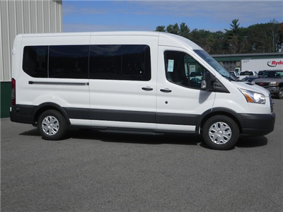 2016 Transit 350 Med Roof 4x2,  Passenger Wagon #F13030 - photo 8