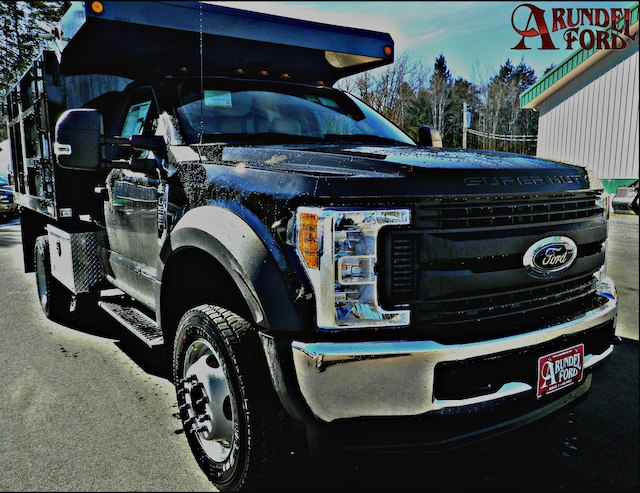 2017 F-550 Regular Cab DRW 4x4,  Reading Landscape Dump #F14004 - photo 3