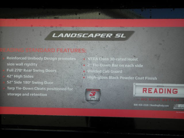 2017 F-550 Regular Cab DRW 4x4,  Reading Landscaper SL Landscape Dump #F14004 - photo 28