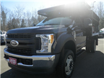 2017 F-550 Regular Cab DRW 4x4,  Reading Landscaper SL Landscape Dump #F14004 - photo 1