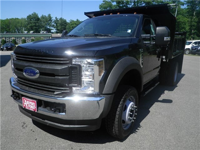 2018 F-550 Regular Cab DRW 4x4,  Crysteel E-Tipper Dump Body #F14843 - photo 1