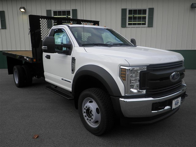 2018 F-550 Regular Cab DRW 4x4,  Platform Body #F14901 - photo 3