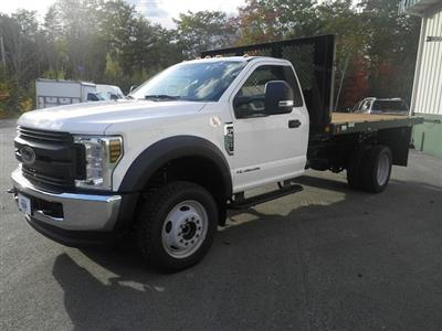 2018 F-550 Regular Cab DRW 4x4,  Platform Body #F14901 - photo 1