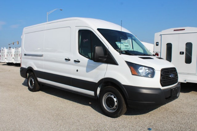 2018 Transit 250 Med Roof 4x2,  Empty Cargo Van #CF8103 - photo 8
