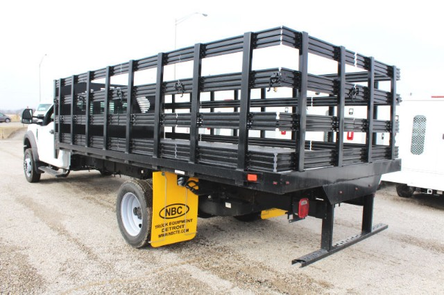 2018 F-550 Regular Cab DRW 4x2,  Stake Bed #CF9125 - photo 2
