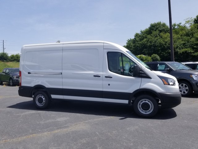 2019 Transit 250 Med Roof 4x2,  Adrian Steel Commercial Shelving Upfitted Cargo Van #L7276 - photo 9