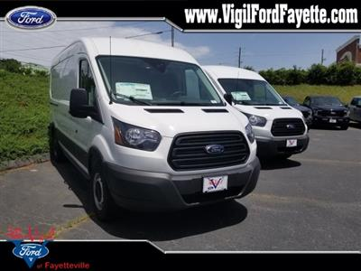 2019 Transit 250 Med Roof 4x2,  Adrian Steel Commercial Shelving Upfitted Cargo Van #L7277 - photo 1