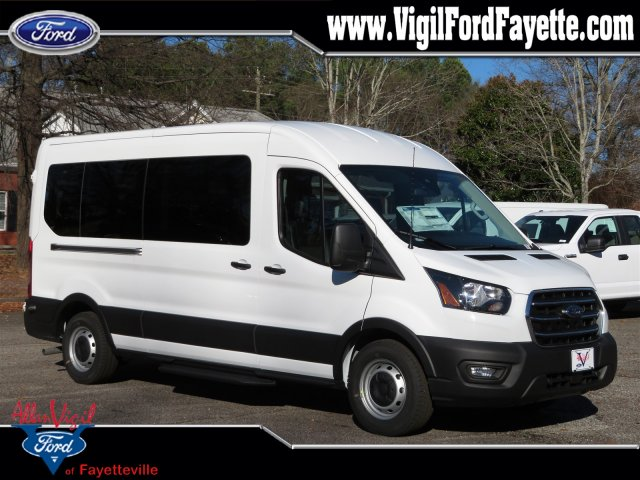 2020 Transit 350 Med Roof RWD, Passenger Wagon #M7086 - photo 1