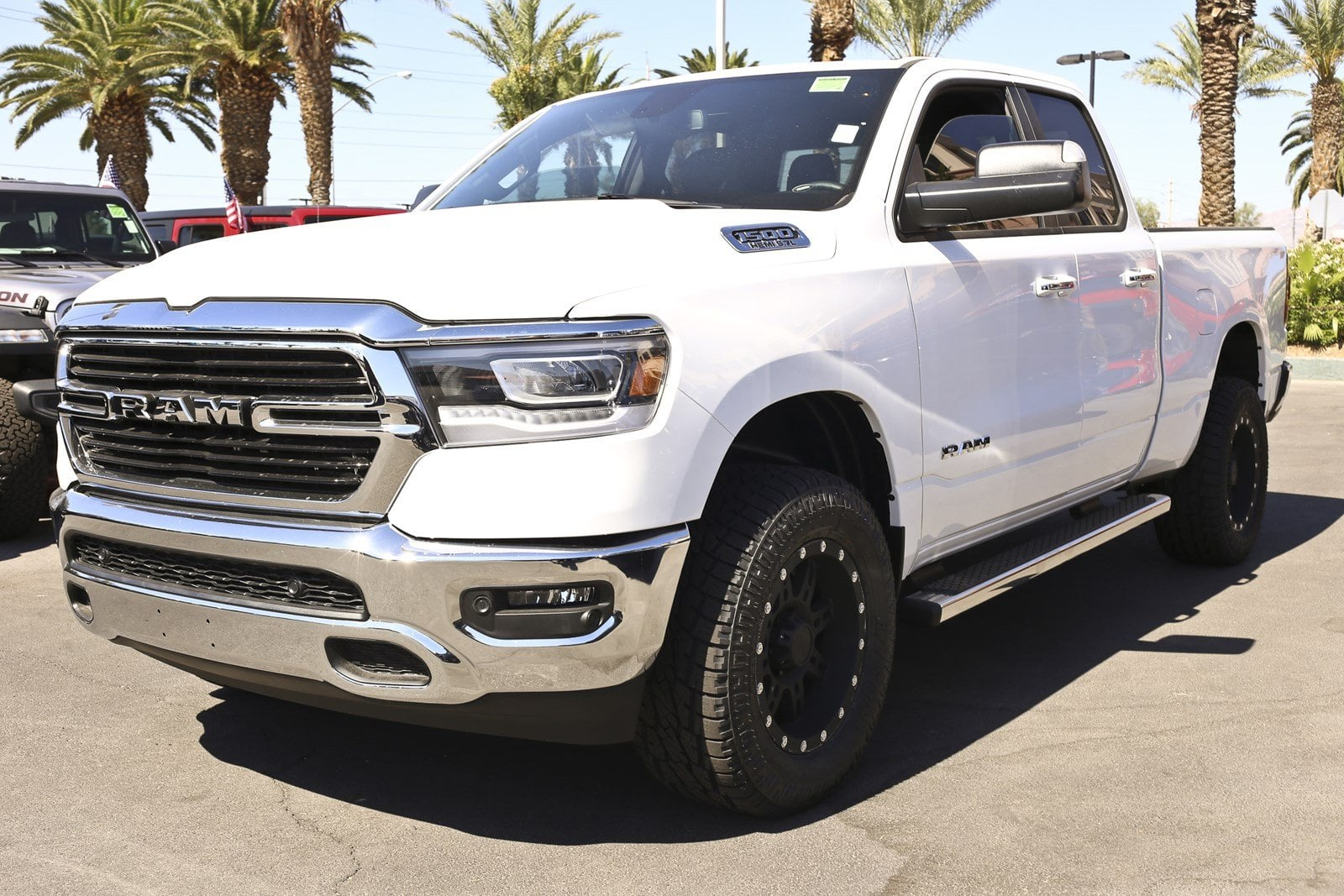 2019 Ram 1500 Quad Cab 4x4,  Pickup #11061 - photo 4