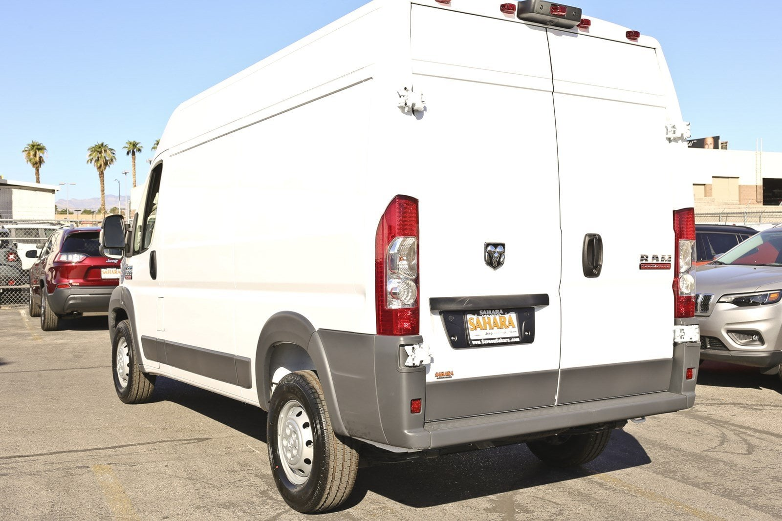 2018 ProMaster 1500 High Roof FWD,  Empty Cargo Van #11384 - photo 7