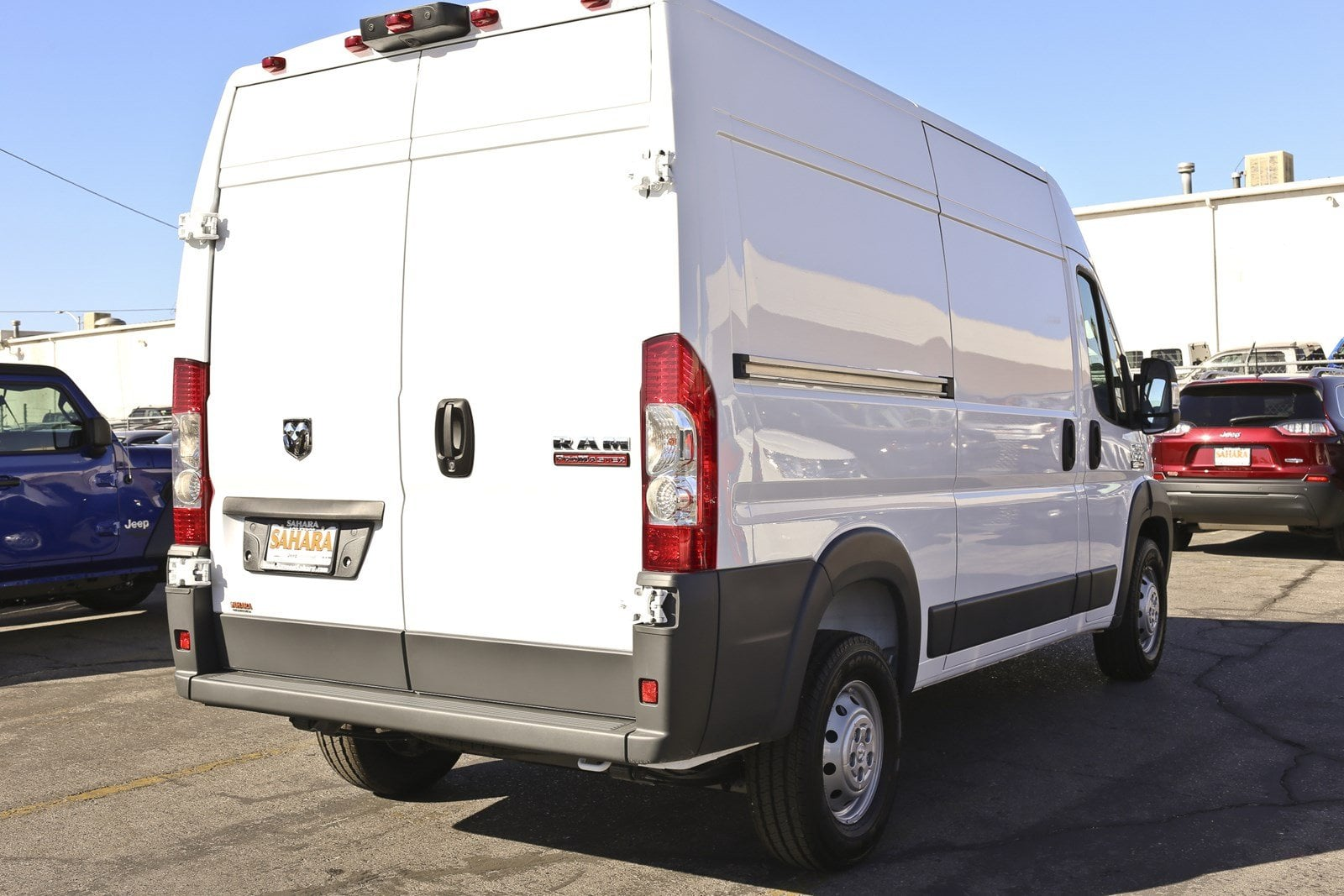 2018 ProMaster 1500 High Roof FWD,  Empty Cargo Van #11384 - photo 9